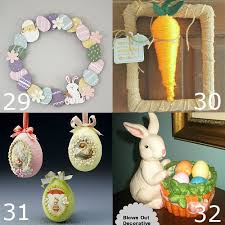 easter bunny decorations 32 diy easter decorations the gracious