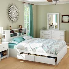 saving space with platform bed with storage u2014 the home redesign