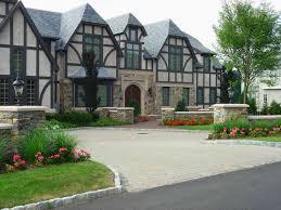 architecture minimalist image of garden house landscape