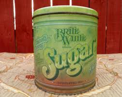 vintage metal kitchen canisters ballonoff canisters etsy