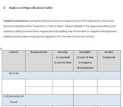free intranet u0027request for proposal u0027 rfp template claromentis