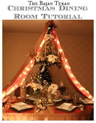 holiday dining room decor with video tutorial u2013 the bajan texan