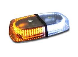 magnetic base strobe light zone tech amber white emergency hazard warning led mini bar strobe