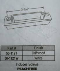 Peachtree Doors And Windows Parts by Peachtree Lift Handle 50 1121 White Or Driftwood Window Repair Parts