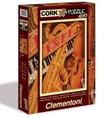 puzzle cuisine jazz cork puzzle clementoni sense