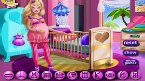Barbie Home Decoration đ Barbie Games Pregnant Barbie Maternity Deco