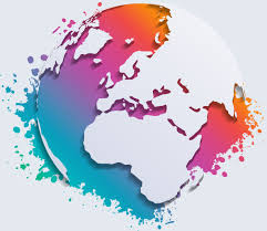 map vector watercolor and earth map vector free vector in adobe illustrator