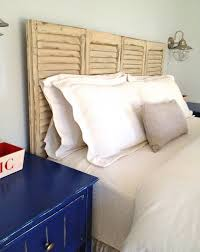 Headboards Made From Shutters Top 10 Cheap And Chic Diy Headboard Ideas Top Inspired