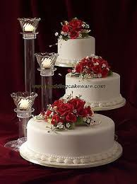 3 tier cascading wedding cake stand stands 3 tier candle stand