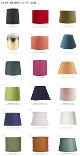 the surprising value of colored textured or patterned lampshades emily henderson textured patterned colorful lamp shades colorful 11