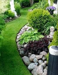 Rock Cottage Gardens Eureka Springs Rock Garden Bed Beautiful River Rock Landscaping Home Decor