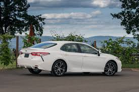 toyota white car that powerful new four cylinder 2018 toyota camry is no quicker