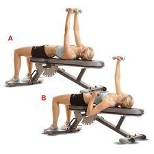 Bench Press With Dumbells - alternative dumbbell bench press women u0027s health