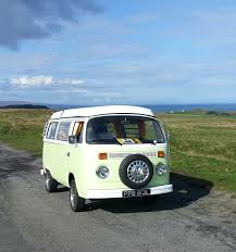 volkswagen old van sunnyside classic vw camper van hire and rental scotland