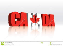 3d canada vector word text flag royalty free stock photo image