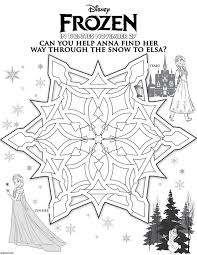 nice design frozen coloring games free printable activity pages