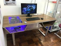 Computer Desk Built In Desk Built In Pc My I Computer Interque Co