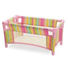 manhattan toy baby stella baby doll take along travel crib target