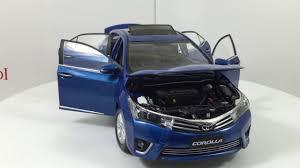 toyota car models 2014 paudi model toyota corolla 2014 1 18 scale diecast model car