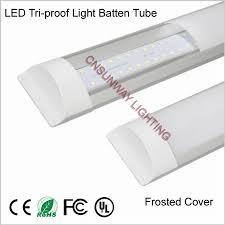 led tri proof light batten tube 2ft 3ft 4ft 40w explosion proof