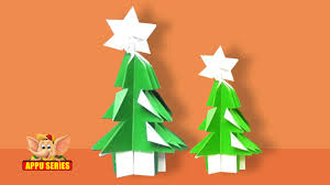 learn to kirigami a christmas tree youtube