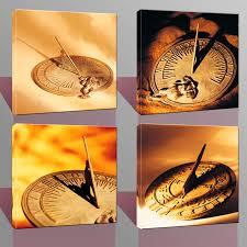 Home Decor Canvas Art by Online Get Cheap Canvas Art Clock Aliexpress Com Alibaba Group