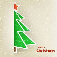 half christmas tree the half christmas tree with on the light snow winter