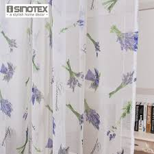 Lavender Window Curtains Isinotex Window Curtain Lavender Printed Pattern Transparent Sheer