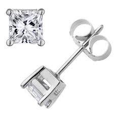 mens studs crunchy fashion silver metal stud earrings for women in