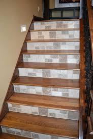 tiles wood and tile stair wood tile stair nosing u201a wood look tile