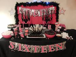 sweet 16 party decorations ideas of sweet 16 decorations the home decor ideas