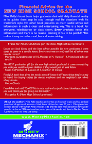 book for high school graduate financial advice for the new high school graduate mike