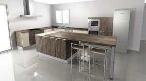table et cuisine decoration cuisine avec ilot central et galerie et cuisine ilot