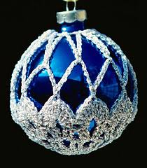 crocheted christmas ravelry crocheted christmas ornament covers 2 patterns