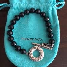 onyx bracelet tiffany images Women 39 s tiffany onyx bracelet on poshmark jpg