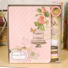 Diy Scrapbook Album Retro Complete Scrapbook Kit Gift Set Creative Scrapbooking Diy