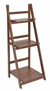 etagere legno scaffale a scala in legno l 46 cm craft room