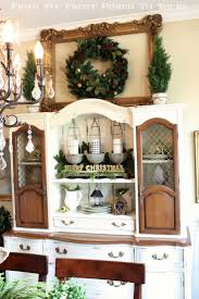 Dining Room Hutch Decorating Ideas 345 Best Christmas Decorating Ideas Images On Pinterest