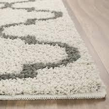 Plastic Carpet Runner Walmart by Mainstays Trellis 2 Color Shag Area Rug Or Runner Walmart Com