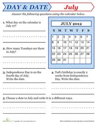 calendar worksheets first grade worksheets