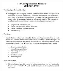 test case template 9 download free documents in pdf word excel
