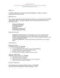 Resume Sample Jamaica resume resume samples for restaurant servers