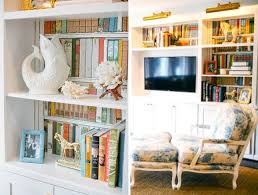 36 brilliant ways to beautify boring bookshelves brit co
