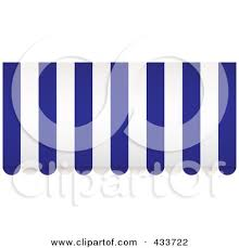 Striped Awning Royalty Free Rf Awning Clipart Illustrations Vector Graphics 1