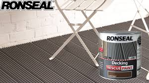 ronseal decking rescue paint youtube