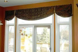 valance window treatments country star layered window valances