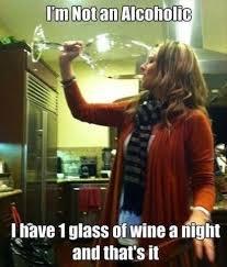Wine Glass Meme - large wine glass always appreciative