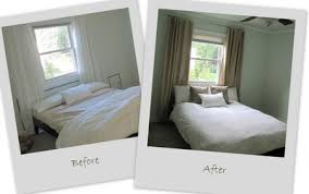 Before And After Bedroom Makeovers - bedroom makeover part 8 completed curtains the borrowed