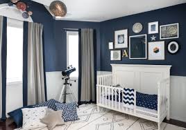 White And Grey Kids Bedroom Celestial Inspired Boys Room Project Nursery