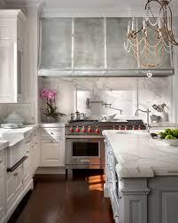 Kitchen Cabinet Photo Design By O U0027brien Harris White And Grey Cabinets With Marble